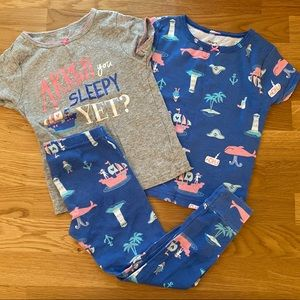 Carter's Girlie Pirate PJs